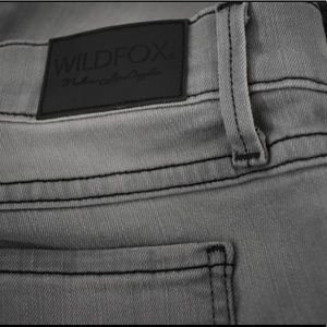 Wildfox Marianne Jeans in Light Grey